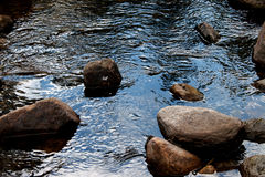 rivers and rocks Stock Photography