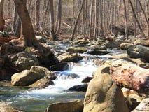 Rivers of Shenandoah. A river running through Whiteoak Falls in Virginia's Shenandoah Mountains Royalty Free Stock Photo