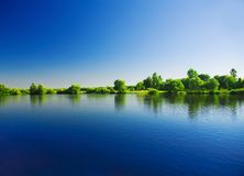 Riverscape Royalty Free Stock Photography