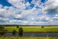 Riverscape Fotografie Stock