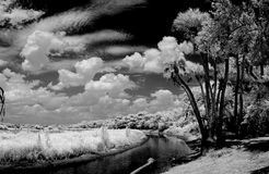 riverscape excessif photo stock