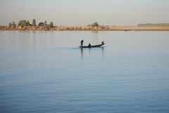 Riverscene on the Niger Royalty Free Stock Images