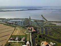 River Po Veneto Italy royalty free stock image
