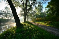 riverside στοκ εικόνα με δικαίωμα ελεύθερης χρήσης
