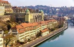 Riverside of Bern Stock Image