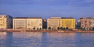 Riverside of Budapest Stock Photo