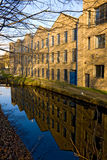 Riverside building in University of Huddersfield Stock Photos