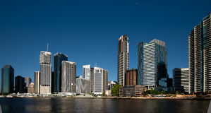 Riverside buildings in Brisbane Royalty Free Stock Photography