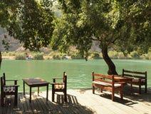 Free Riverside Cafe, Dalyan, Turkey Royalty Free Stock Photos - 21370488