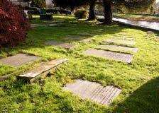Riverside cemetery Stock Image