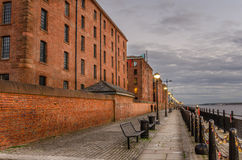 Riverside Cobbled Footpath royalty free stock photo