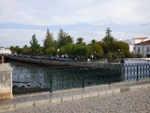 Riverside gardens Tavira. Stock Photos