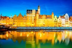 Riverside in Gdansk Royalty Free Stock Photos