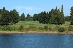 Riverside Golf Course Stock Images