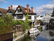 Free Riverside Houses And Moorings Stock Photos - 10726163