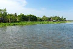 Riverside landscape Stock Image