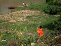 Riverside Living, Kompong Cham Stock Photo
