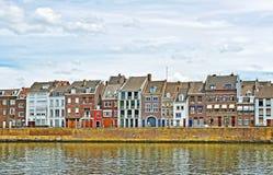 Riverside of Maastricht, Netherlands Stock Photography