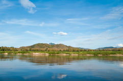 Riverside of the Mekong Royalty Free Stock Images