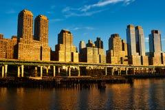 Riverside neighborhood in New York City Stock Photo