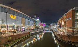 Riverside on the Oracle shopping centre , Reading Berkshire United Kingdom stock photo