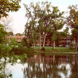 Riverside Park. Findlay, Ohio stock photos