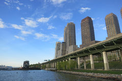 Riverside Park South in New York City Stock Photos