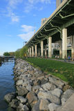 Riverside Park South in New York City Royalty Free Stock Photos