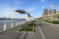 Riverside Park South in New York City Stock Image