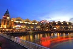 Riverside point Singapore Stock Photos