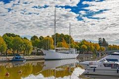 Riverside Porvoo Porvoonjoki River Stock Photography