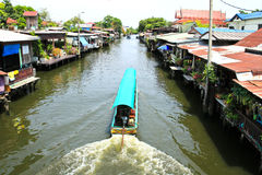 Riverside residential in Thailand Royalty Free Stock Photography
