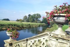 The riverside of River Avon  Stock Images