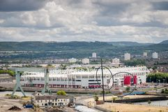 Riverside stadium. The home of Middlesbrough football club Stock Image