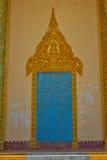 Riverside temple door of Kampot, Cambodia. Riverside temple of Kampot, Cambodia Stock Photography