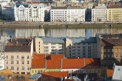 Riverside view of Budapest, Hungary Stock Image