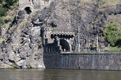 Riverside of Vltava Royalty Free Stock Image