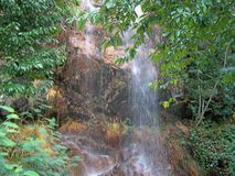 Riverside/waterfall detail - summer time (Orvalho - Portugal) Stock Images