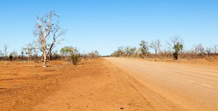 Riversleigh distante no interior Queensland fotografia de stock