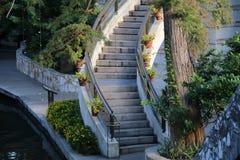 Riverwalk圣安东尼奥 免版税库存图片