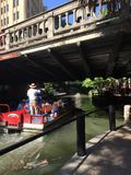 Riverwalk在圣安东尼奥得克萨斯 免版税图库摄影