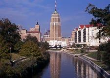 Riverwalk, Сан Антонио, Техас. стоковое изображение rf