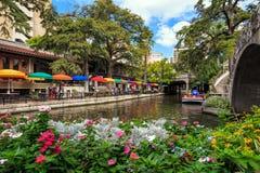 Riverwalk Сан Антонио Стоковые Изображения RF