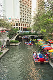 Riverwalk. The historic riverwalk in San Antonio Texas Royalty Free Stock Images