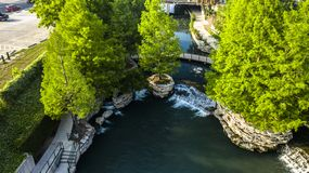 Riverwalk de la perla foto de archivo