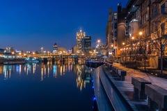 Riverwalk de Milwaukee Fotografia de Stock