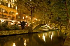 Riverwalk de San Antonio Imágenes de archivo libres de regalías