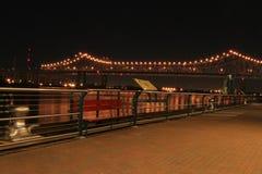 Riverwalk em Nova Orleães Fotografia de Stock