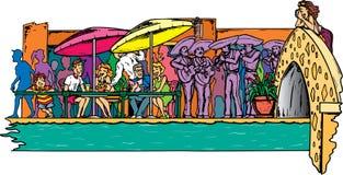 Riverwalk em San Antonio Imagem de Stock