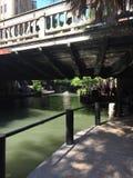 Riverwalk en San Antonio Texas foto de archivo